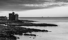IMG_1325_adj-2 (md93) Tags: largs portencross sunset castle clyde scotland