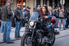 2019 Lone Star Rally (burnt dirt) Tags: galveston texas candid documentary street photography downtown city urban metro the strand outdoor people person fujifilm xt3 fujinon 50mm f2 style fashion life real crowd group emotion expression portrait close motorcycle bike biker harley davidson red