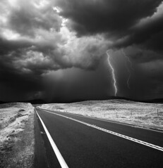 San Diego : Warner Springs (William Dunigan) Tags: san diego warner springs photography art california southern black white monochrome monsoon storm lightening rural landscape