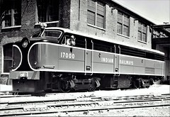 India Railways - Indian Railways Class WDM1 (DL500) Co-Co diesel locomotive Nr. 17000 (Alco Locomotive Works 81741 / 1957) (HISTORICAL RAILWAY IMAGES) Tags: india railways train locomotive diesel alco 17000 wdm1