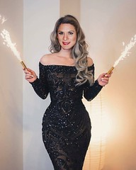 Happy New Year (xgirltv1000) Tags: tgirl transgender trans transwoman transgirl translady transisbeautiful crossdress maletofemale mtf boytogirl genderbender genderfluid makeover transformation happynewyear michellemonroe