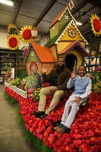 Rose Parade Float Judging 2019