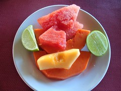 Fruit is Best (knightbefore_99) Tags: mexico mexican nayarit west coast decameron rincon guayabitos cool tasty best awesome sandia fruit lime colour melon watermelon lovely