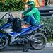 2019 - Vietnam, Saigon - Avalon Waterways Tour - Grab a Ride
