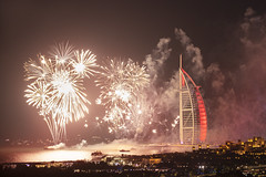 Dubai New Year 2020 Burj Al Arab