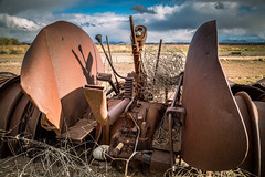 Rusty Tractor (Brad Prudhon) Tags: 2019 antique arizona december farmequipment old rusty safford abandoned tractor