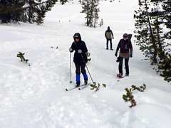 Winter outing (simonov) Tags: hiking humboldtnationalforest carsonrange tahoemeadow mountain xc skiing crosscountry winter snow snowshoes man woman lynn ricardo ingrid