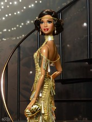 Welcome to the new 20s, Happy New Year! (davidbocci.es/refugiorosa) Tags: happy new year barbie mattel fashion doll muñeca refugio rosa david bocci ooak alma