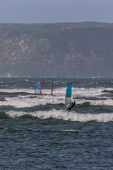 Heading For Mana Island (gecko47) Tags: newzealand plimmerton wellington karehanabay manaisland windsurfers sailcraft sports aquatic water waves sails