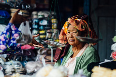 Old Burmese Woman With Scales in Market, Chauk Myanmar (AdamCohn) Tags: adam cohn burma chauk myanmar elderlywoman oldwoman scale scales selling streetphotographer streetphotography vendor woman wwwadamcohncom adamcohn