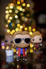 The Big Thorbowski (Karol A Olson) Tags: thor groot captainmarvel funkopop christmas christmastree avengers