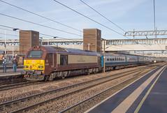 DB Schenker 67021 Peterborough (daveymills37886) Tags: db schenker 67021 peterborough class 67 uk railtours