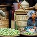 Woman Selling Limes, Chauk Myanmar