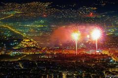 happy new year from athens! (George Spanoudakiss) Tags: fujifilm fuji fujixt2 fujix fujilove fujixpassion urban fujixseries fujiholic fujicamera fujiphotos fujimadness fujinon fujilover fujifilmhellas fujishooters xt2 athens greece greek newyear lights city cityscape fireworks celebration 2020 night nightphotos fujixphotography