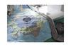 Grandmother's Flower Garden Quilt (balu51) Tags: patchwork sewing quilting quilt grandmothersflowergardenquilt hexagons stashsewing binding blue green grey november 2019 copyrightbybalu51