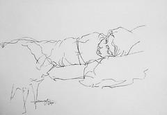 (Gasheh) Tags: art painting drawing sketch portrait figure girl line pen gasheh 2019
