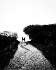 ON THE WAY TO THE NEW (bhs-photo) Tags: bnw monochrome schwarzweis noiretblanc street leica leicaq silhouettes minimal