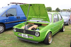 Volkswagen Golf GTi CAT393X (Andrew 2.8i) Tags: haynes museum sparkford classic car cars classics breakfast meet show german hatch hot hatchback mark 1 mk mk1 gt gti vw golf volkswagen cat393x