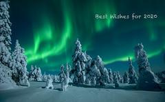 Best Wishes for a successful New Year! (MrBlackSun) Tags: newyear bestwishes finland riisitunturi riisitunturinationalpark northernlight polarlight nikon nikond850 d850 aurora auroraborealis