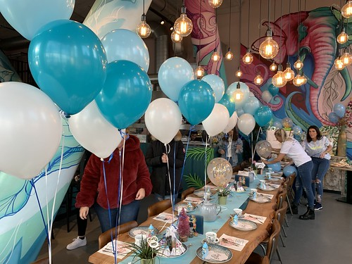 Tafeldecoratie 3ballonnen by Ami Rotterdam