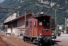 SBB Te'' 240 (maurizio messa) Tags: svizzera switzerland ticino gottardo gotthard rangierlokomotive manovra shunter yashicafxd mau bahn ferrovia treni trains railway railroad