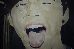 Happy new yeah! (elojeador) Tags: cuadro pintura foto fotografía gusvansant exposición lacasaencendida rostro cara chico hombre lengua gesto andprosperousnewyeah elojeador