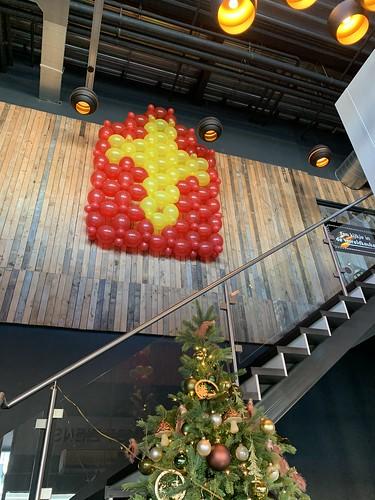 Ballonnenwand Sinterklaas Watertuin Spijkenisse