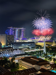 New Year Fireworks from Bras Basah (Scintt) Tags: singapore mbs marina bay sky dramatic travel tourist attraction exploration movement motion skyline cityscape city urban modern structures architecture buildings offices cbd scintillation scintt jonchiangphotography iconic surreal epic wideangle glow light tones dusk twilight longexposure slowshutter bluehour hotel office towers skyscrapers rafflesplace wide night evening financial business centralbusinessdistrict fun celebration trails reflections fireworks composite blended shentonway marinabaysands newyearday festive carnival joyous event happy festival art clouds