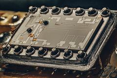 Vintage chip (oldTor) Tags: стэкинг микросхема макрофото мануальныеобъективы макро макрофотография электроника enlarginglens enlarging vivitar vivitarlu microchip chip electronics hdr grunge микросборка focusstack focusstacking stacking vintagelens vintage oldtor
