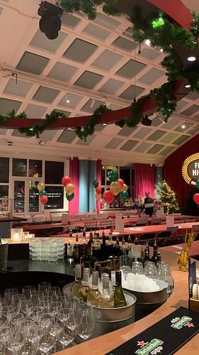 Tafeldecoratie 3ballonnen Bink Rooftop Den Haag
