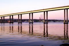 Tay Road Bridge Reflections (eric robb niven) Tags: ericrobbniven scotland rivertay bridge road dundee newport