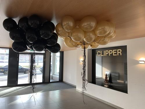 Heliumballonnen Het Gebouw Boompjes Rotterdam