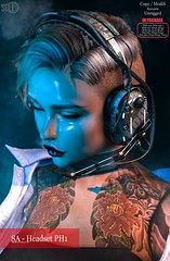 2020 first New Release @Anthem (shoukokanto) Tags: anthem cyberpunk rock retro headset headphone studded kawaii カワイイ 可愛い steampunk punk pubkrock secondlife セカンドライフ 新作 newrelease