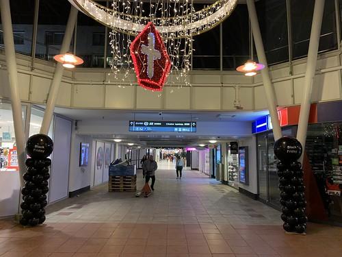 Ballonpilaar Breed Rond Bedrukt Black Friday Winkelcentrum de Koperwiek Capelle aan den IJssel
