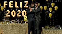 B#135 (Catlo Cyberstar) Tags: happynewyear 2020 catwa magnificent modulus signature straydog wrong nomad aphrodite secondlife men gay beard couple avatar digitalart furniture decor mancave
