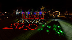 Bonne année 2020 (XP LiGHTS °°° LiGHTPAINTING is MAGiK °°° Pho) Tags: bonne année 2020 happy new year feliz año frohes neues jahr с новым годом 新年快樂 新年快乐 عام سعيد la rochesuryon lrsy roche sur yon vendée 85 place napoléon france lflp night photography photographie lumière luz nuit noche jaune yellow amarillo red rouge rot bleu blau blue azul vert green verde grün stars star étoiles étoile color colors couleur couleurs infinitexposure longexposure long exposure maxime photos plus max pateau photosplus xp lights lim