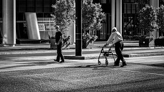 Are you ok dad? (Chris (a.k.a. MoiVous)) Tags: streetphotography adelaidecbd streetlife commuters