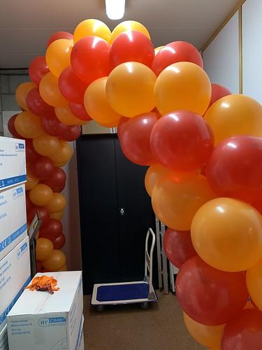 Ballonboog 6m Euro-Caps Koffiecupjes Rotterdam
