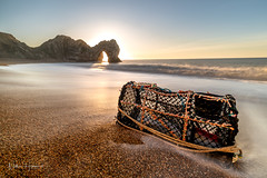 New Year Sunrise (Nathan J Hammonds) Tags: newyear new year dorset uk durdle door sunrise coast sea waves long exposure jurassic nikon d850 irex 15mm landscape seascape beach