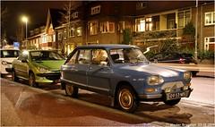 My cars (XBXG) Tags: 0953ms 4tpl34 citroën ami 8 1970 citroënami8 citroënami ami8 peugeot 206 cc 2002 peugeot206cc peugeot206 nuit night nocturne verspronckweg haarlem nederland holland netherlands paysbas vintage old classic french car auto automobile voiture ancienne française france frankrijk vehicle outdoor