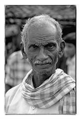 Odisha : Koraput, older man (foto_morgana) Tags: adivasi asia asie azië asianman blackwhitephotography canoneos1 eyes face gezicht visage filmnoir head headshot india indigenousculture kodakt400cn koraput monochrome nikoncoolscan odisha on1photoraw2020 people portrait portret portraiture olderman stare topazdenoiseai travelexperience vuescan zwartwitfotografie