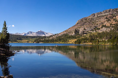 peaceful mood at Ellery Lake (kleiner_eisbaer_75) Tags: usa yosemite nationalpark kalifornien california natur nature lake see reise travel wasser water tuolumne meadows ngc