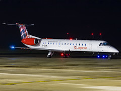 Loganair | Embraer ERJ-145EP | G-SAJK (Bradley's Aviation Photography) Tags: egsh nwi norwich norwichairport airplane avgeek airliner aircraft aviation aviationphotography planespotting flying night nightphoto erj e145 erj145 loganair embraererj145ep gsajk
