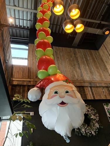 Ballonslinger Kerst Watertuin Spijkenisse