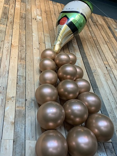 Ballonnenwand Oud en Nieuw Watertuin Spijkenisse