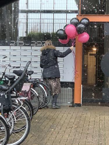 Heliumballonnen Boezemkade Rotterdam