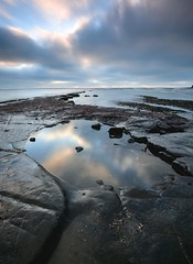 Time for reflection (andy.muir12) Tags: leefilters nikon1635mmf4 nikond750 clouds dorset kimmeridge sea rocks pool reflection