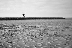 Ebbe (kjell.reinsch) Tags: cuxhaven nordsee northsea coast sw schwarzweiss blackwhite bw