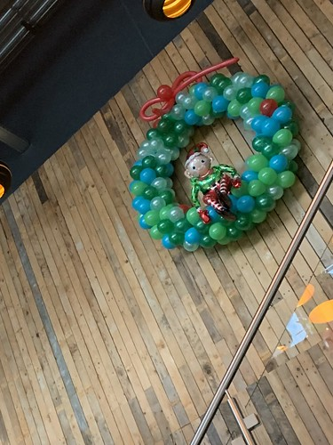 Ballonnenwand Kerst Watertuin Spijkenisse