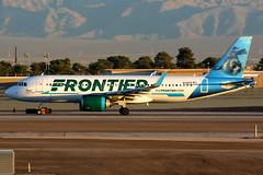 Frontier Airlines | Airbus A320-200N | N341FR | Las Vegas McCarran (Dennis HKG) Tags: aircraft airplane airport plane planespotting canon 7d 100400 lasvegas mccarran klas las frontier frontierairlines fft f9 airbus a320 airbusa320 a320neo airbusa320neo a20n sharklets n341fr